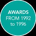 Awards 1992 - 1996